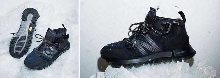Ботинки Snow Peak × New Balance Extreme Spec R_C4 Mid