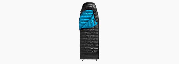 Пуховый спальный мешок Naturehike