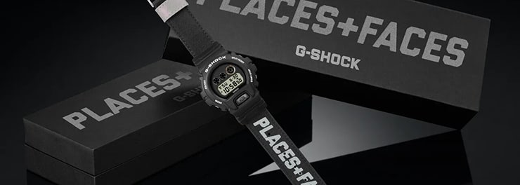 G-SHOCK × PLACES+FACES