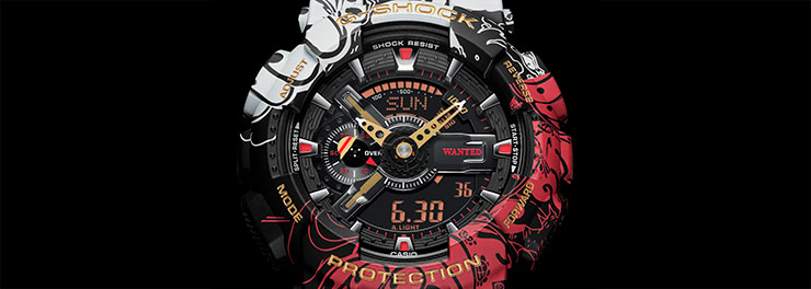 G-SHOCK × One Piece