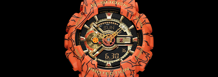 G-SHOCK × Dragon Ball Z