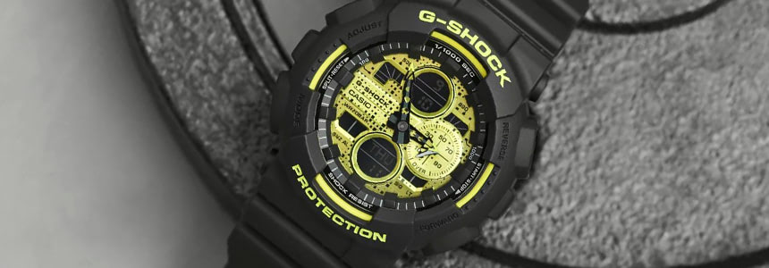 Casio G-SHOCK GA-140DC-1AER