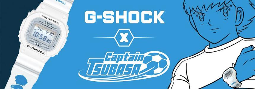 G-SHOCK × Captain Tsubasa